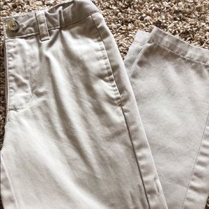 Boys khaki dress up pants
